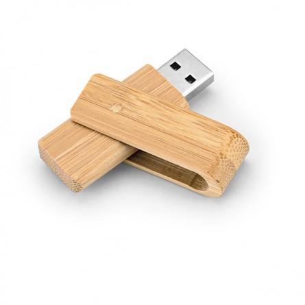 Pen Drive de Bambu Personalizado 2-97540