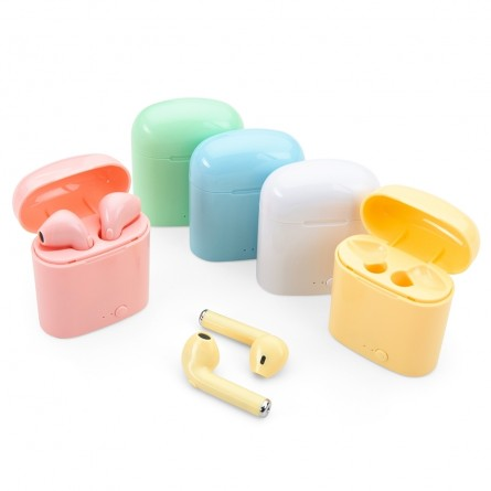 Fone de Ouvido Bluetooth com Case Carregador -3-4190
