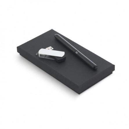 Conjunto Esferográfica e Pen Drive