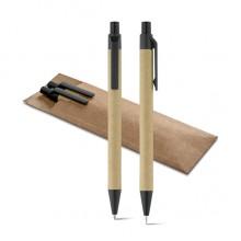 Conjunto caneta  e Lapiseira LEAF